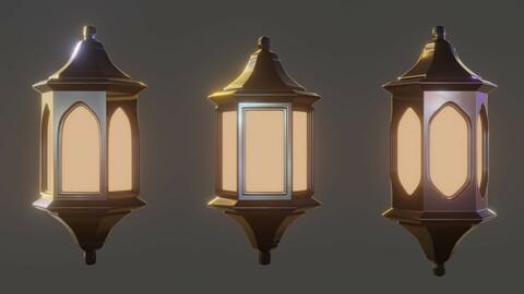 Gothic Lamp 000