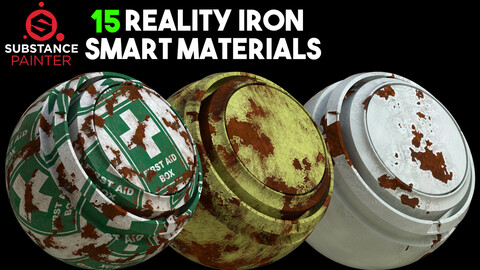15 High Quality Iron Smart Material / .spsm