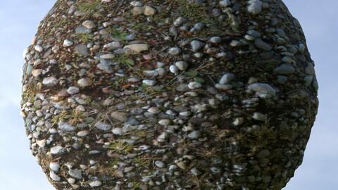 Gravel Grass 9 PBR Material