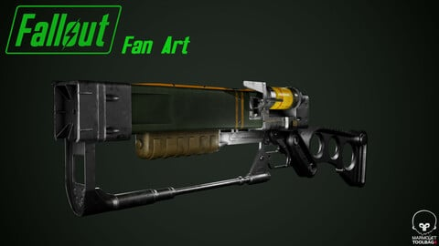 Fallout: AER9 Laser Rifle