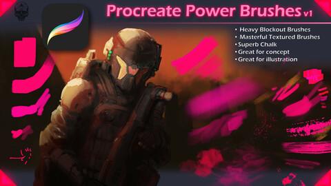 Procreate Power Brushes