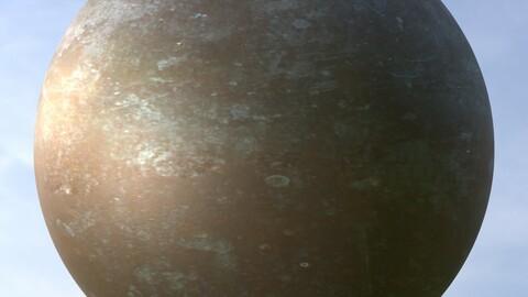 Metal Door 4 PBR Material