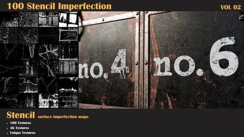 100 Stencil Imperfection-VOL 02