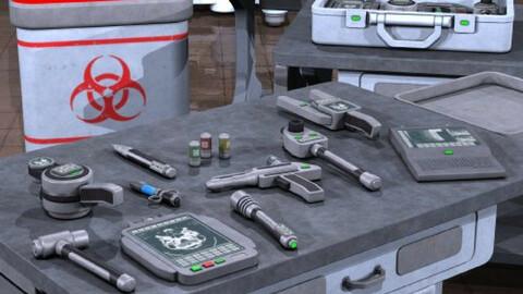 Sci Fi Medical Gear