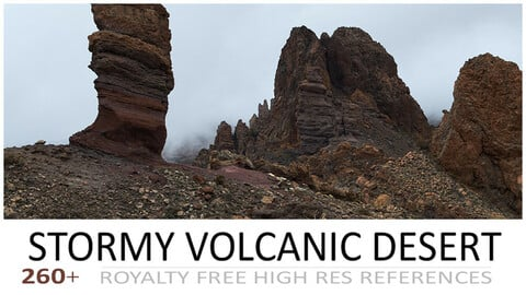 STORMY VOLCANIC DESERT PACK