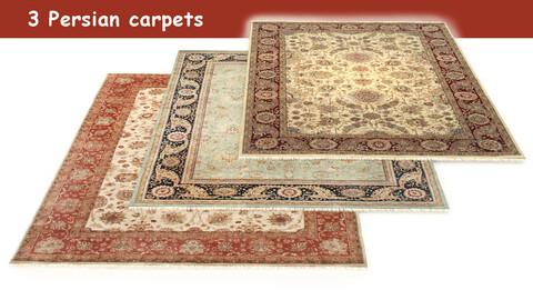 3 Persian carpets rug