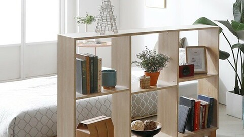 1200 Partition Low Bookcase_DO01