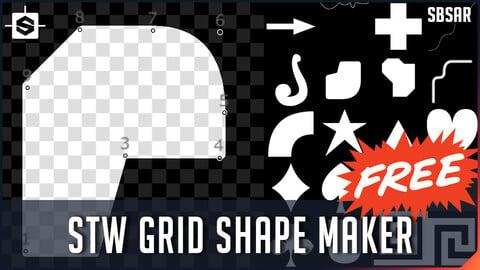 STW Grid Shape Maker - Substance Designer Tool