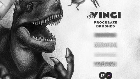 17 Procreate Brushes: Graphite & Pencil