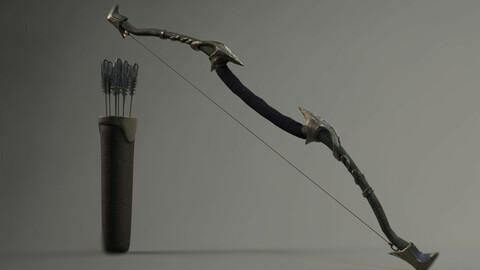 Elf Bow Equipment Set Rig