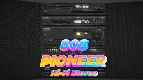 80s Pioneer Hi-Fi Stereo