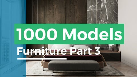 1000 models furniture part 3