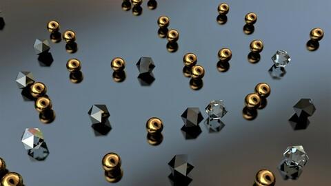 Golden spheres