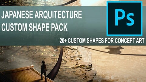 Japanese Architecture Kit - Custom Shapes