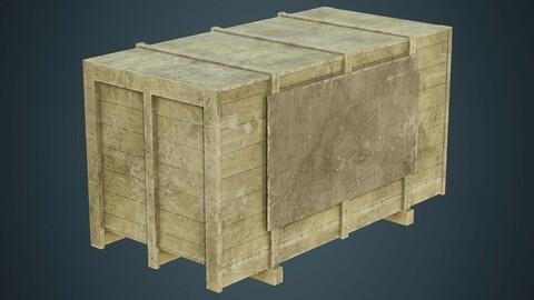 Wooden Box 2B