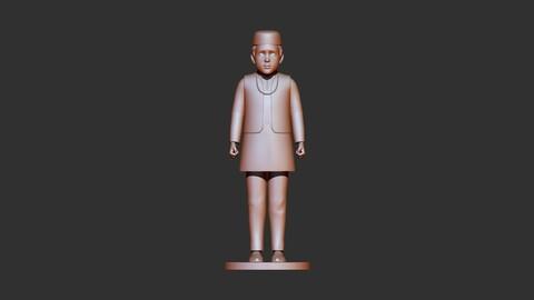 boy 3d print model