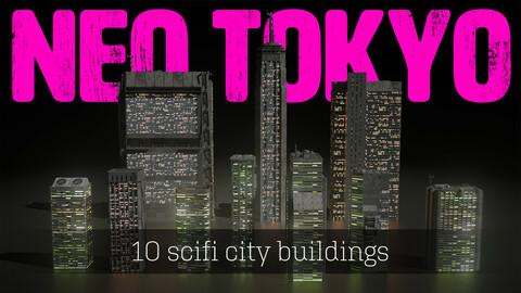 Akira Neo-Tokyo Sci-Fi City Pack