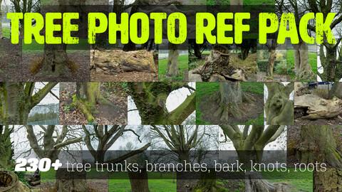 Trees Photo Reference Pack + BONUS Photogrammetry