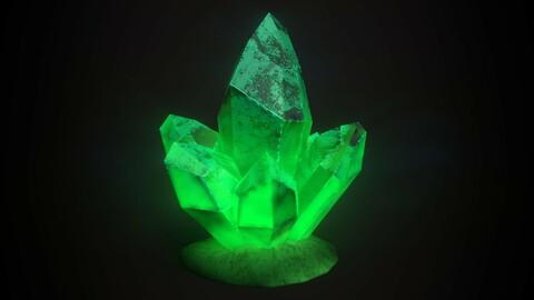 Stylized Emerald Crystal