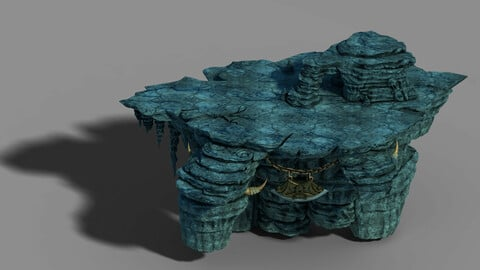Zhen Magic Cave - Mountain - Stone Chassis