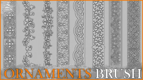 Ornaments Brush for ZBrush