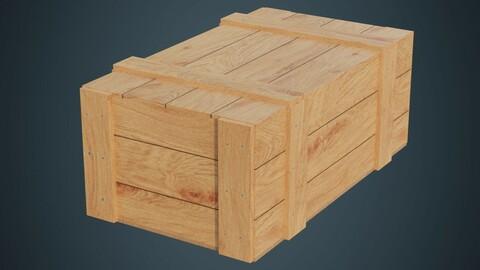 Wooden Box 3A