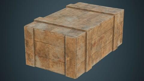 Wooden Box 3B