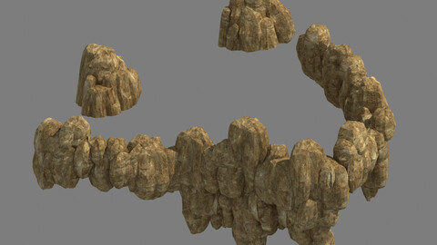 Fountain Hill Rock - Terrain 04