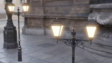 Standing Street Lamp