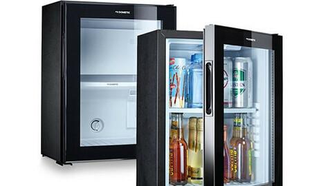 Silent Glass Mini Refrigerator 30L Beer Cosmetics Bedroom RH430LGK