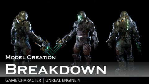 Isaac Clarke - Model Creation Breakdown