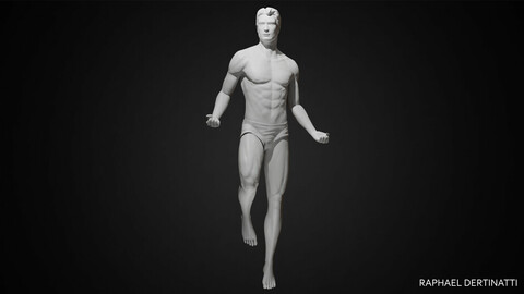 Male Body Posed
