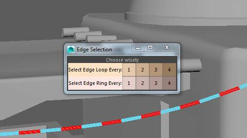 Customized Edge Selection Tool