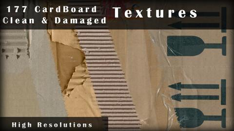 177 CardBoard Textures