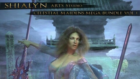 SHIALYN CELESTIAL MAIDENS MEGA BUNDLE Vol 1