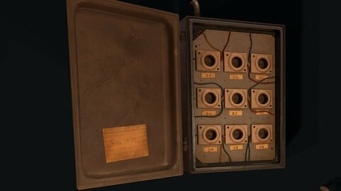 Fuse Box and Switch - PBR