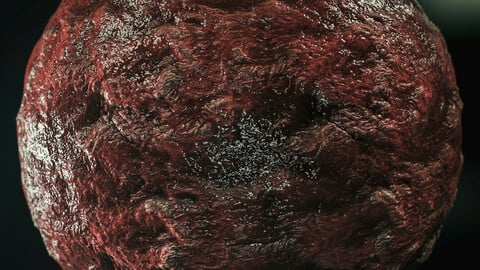 PBR - MEAT, VEINS, MONSTER, ZOMBIE, WOUND, CUT SKIN, STABBAGS, BURNED - 4K MATERIAL