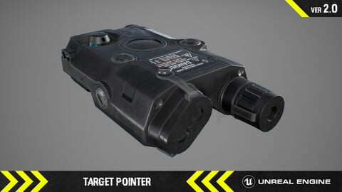Target Pointer - FPS Weapon Attachment [ Unreal Engine ]