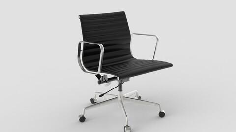 Vitra Aluminium Chair 117 Black