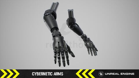 Cybernetic Arms - FPS Character arms [ Unreal Engine ]