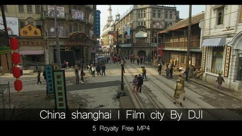 China Shanghai| Film city By DJI Drone
