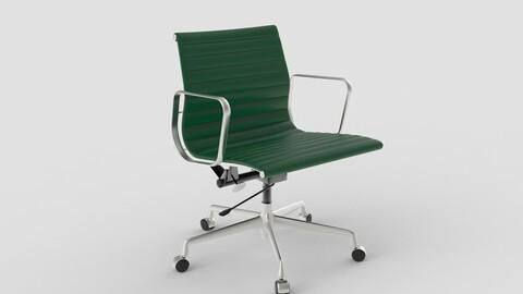 Vitra Aluminium Chair 117 Forest Green