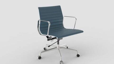 Vitra Aluminium Chair 117 Wedgewood Blue