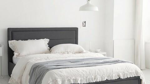Prime lift-up storage bed frame SSQ