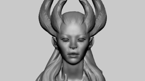 Fantasy Female Head 06