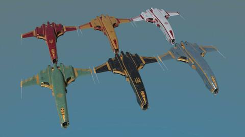 Spaceship Dagger Type 1 Merged Pack