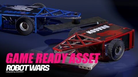 Robot Wars: Tombstone (GameReady Asset)