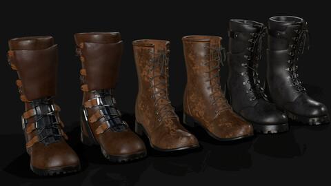 Boots Pack 3pcs