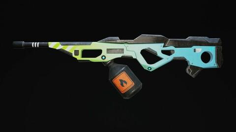 Rakon - Modern Rifle Sci-Fi Game Ready Free