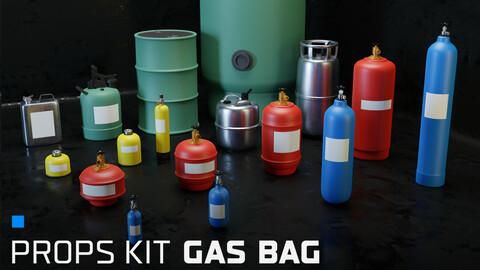 Props kit Gas bag